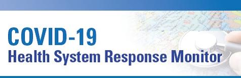 European Observatory Health System Response Monitor Webinar Series